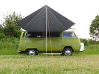 Debus VW T2/T25 Campervan Sun Canopy – Anthracite Grey